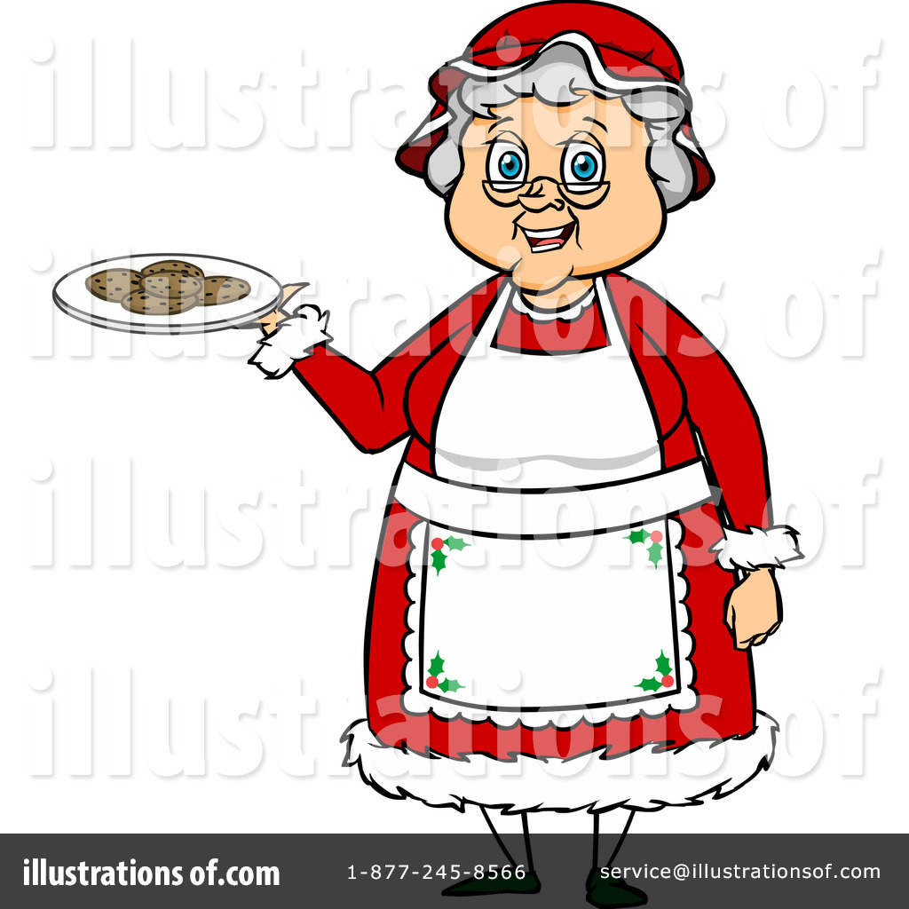 Mrs Claus Clipart #1105137.