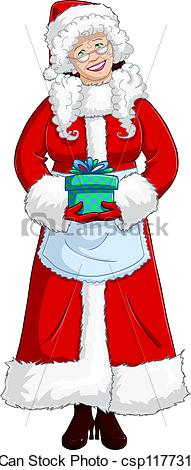 Mrs claus Illustrations and Clipart. 194 Mrs claus royalty.