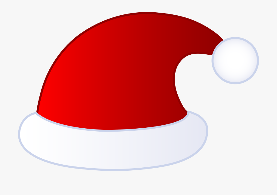 Red Santa Claus Hat.