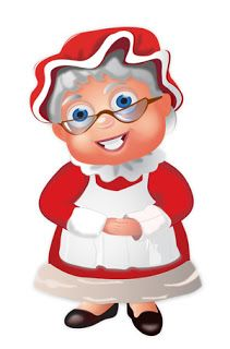 Pin by Barb Burks on Applause 4 Mrs. Claus.