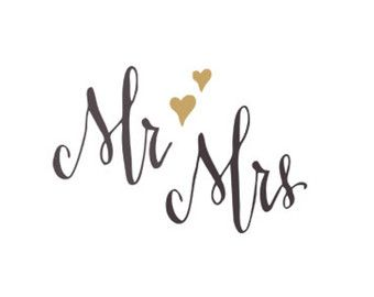 mr mrs svg dxf file instant download silhouette cameo cricut clip.