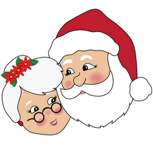 Clipart mrs claus.