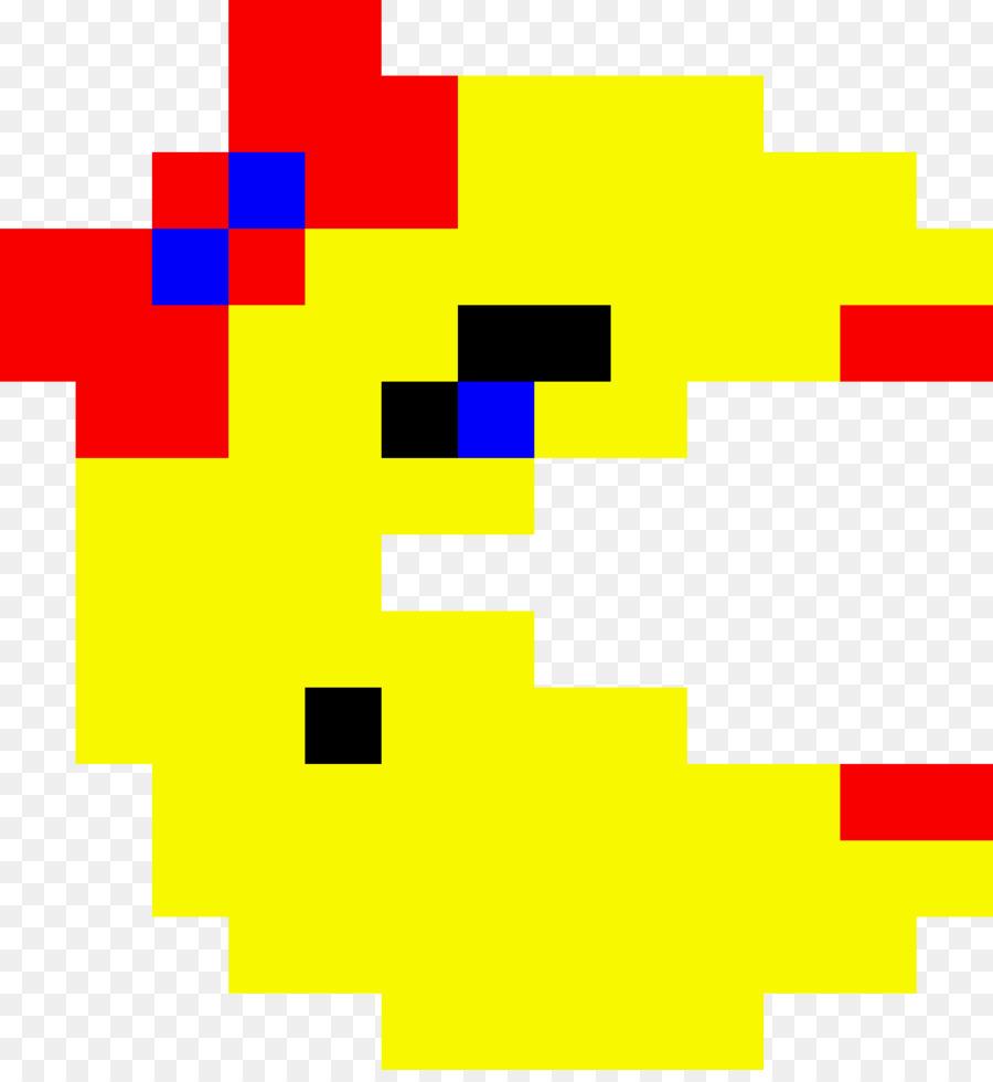 Pacman Pixel Art png download.