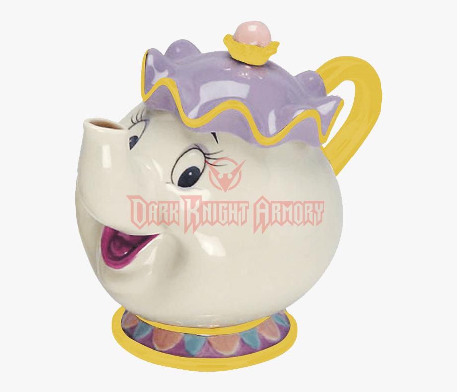 Teapot Clipart Mrs Potts.