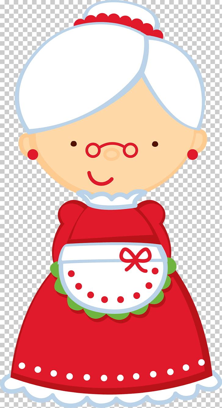 Mrs Santa Clipart.