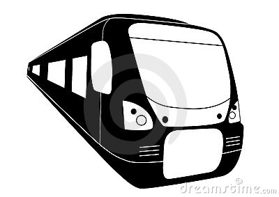 Mrt train clipart.