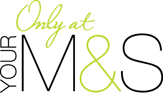 Only At M&S logo.
