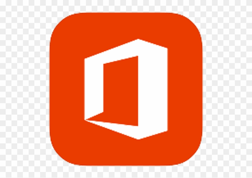 Microsoft Office Flat Icon Clipart (#3325639).