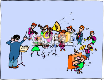 School Band Clipart.