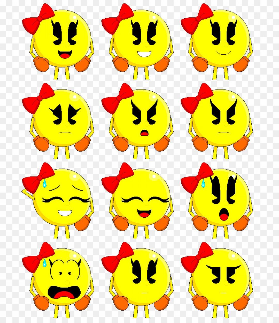 Png Ms Pac Man Art Clip Art Namco Pacman.