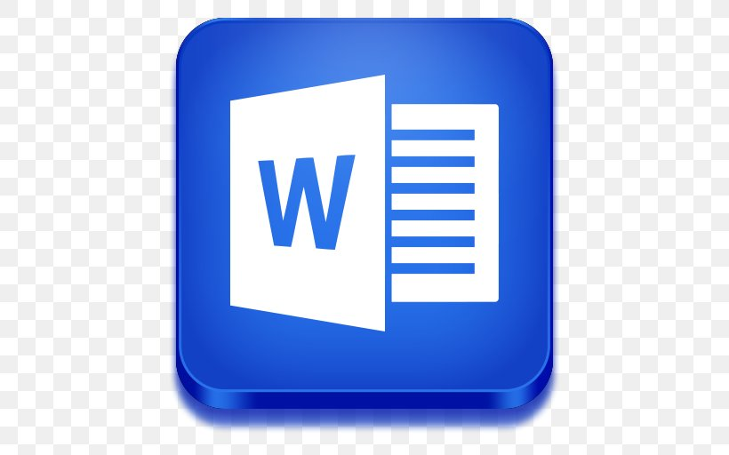 Microsoft Word Microsoft Office Icon, PNG, 512x512px.