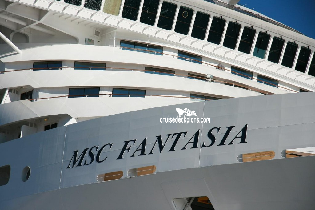 MSC Fantasia Deck Plans.