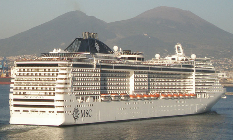 MSC Fantasia Cruises 2017.