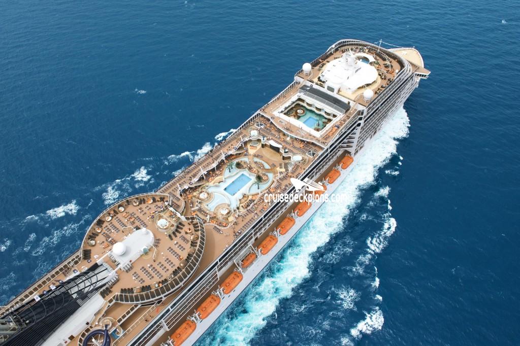 MSC Splendida Deck Plans.
