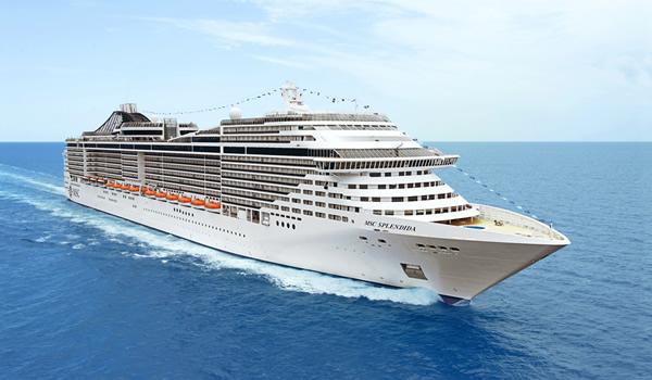 MSC SPLENDIDA ship description, photos.