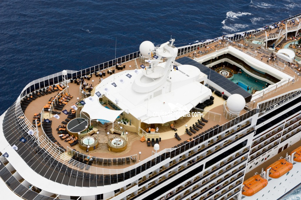 MSC Splendida Deck Plans.