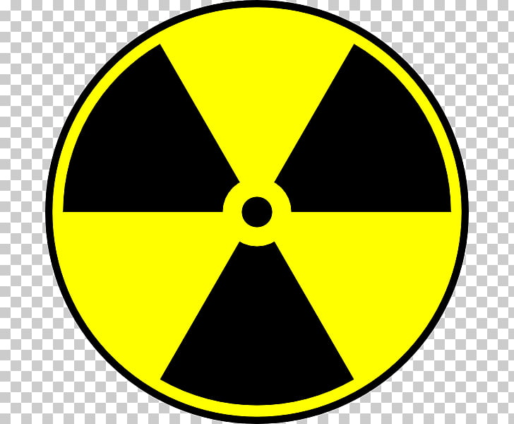 Hazard symbol Toxicity Radioactive decay , nuclear PNG.