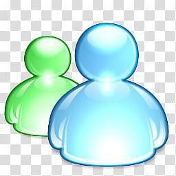 MSN Messenger, MSN_Messenger_ icon transparent background.