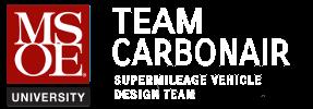 msoe team carbonair smv design team logo.