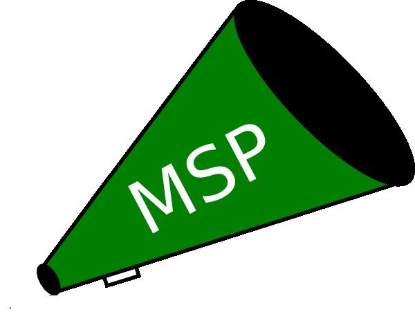 Megaphone Green Msp Clip Art at Clker.com.