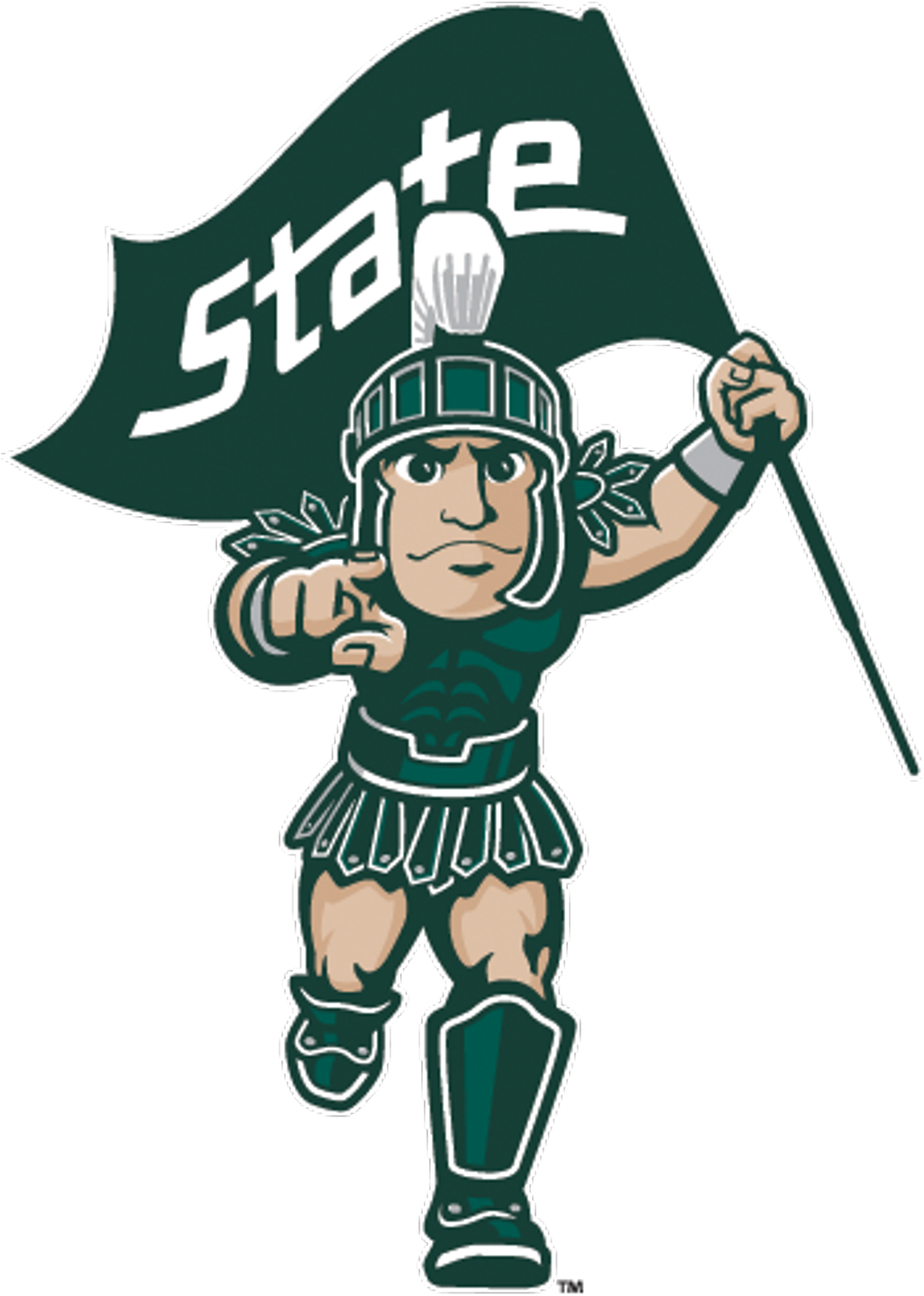michiganstate #sparty #cartoon #logo #mascot #msu.