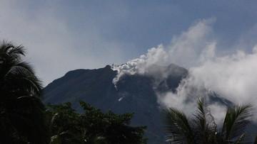active volcano.