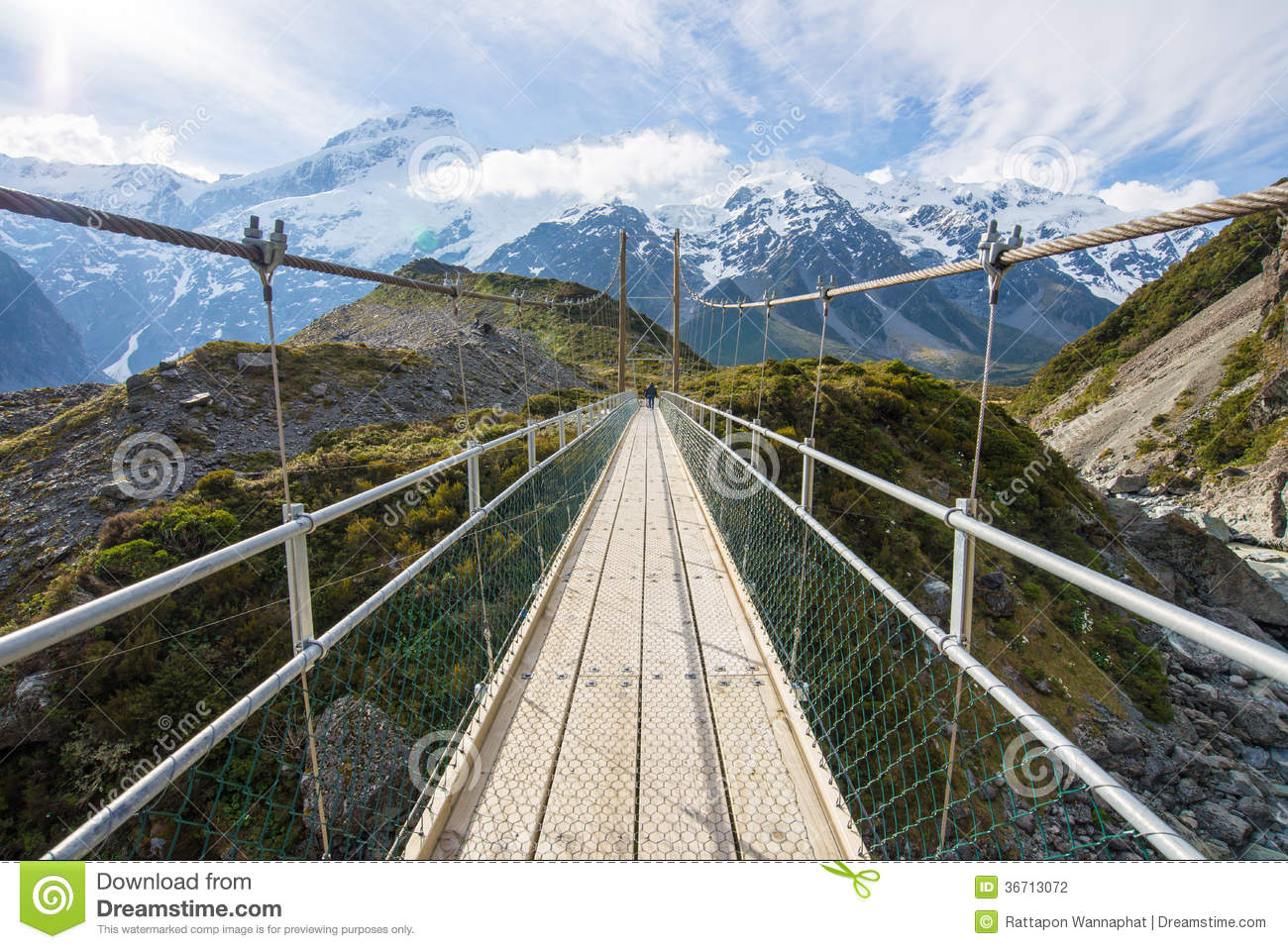 Rope Bridge Stock Photos, Images, & Pictures.