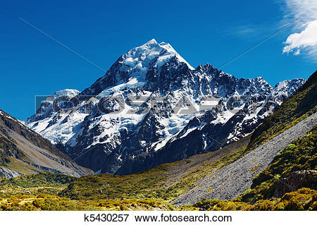 Picture of Mount Cook, New Zealand k5430257.