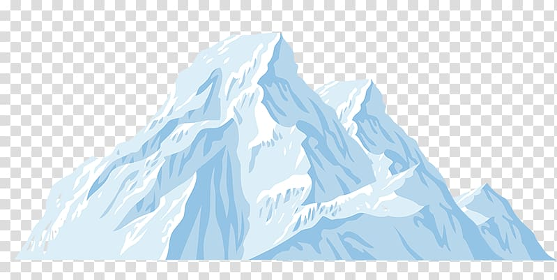 Mount Everest art, Iceberg Cartoon, iceberg transparent.