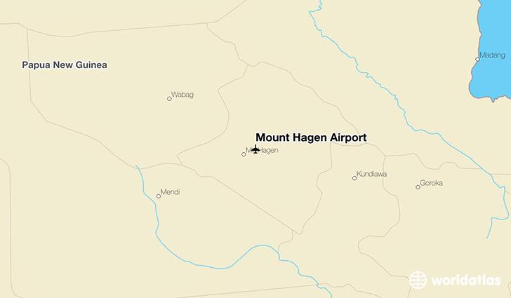 Mount Hagen Airport (HGU).