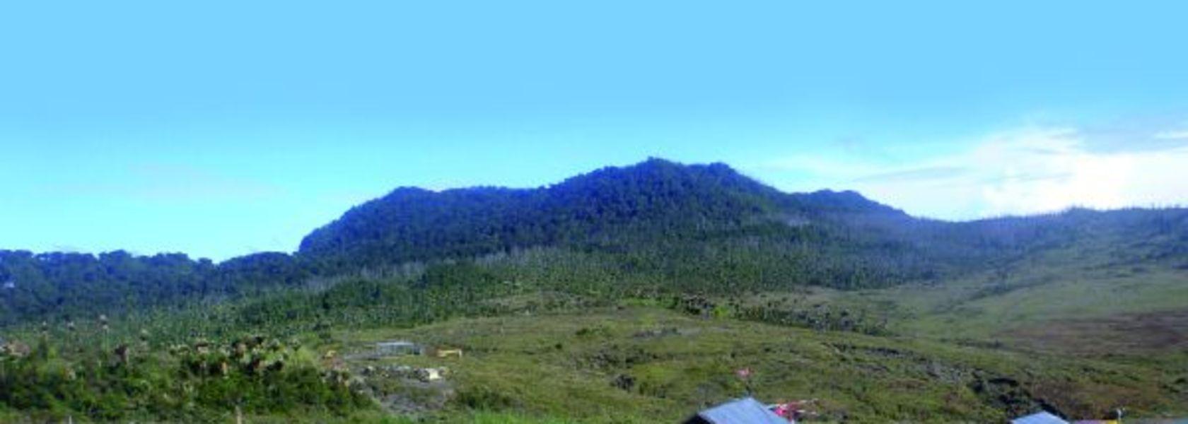 Honouring Mt Kare.
