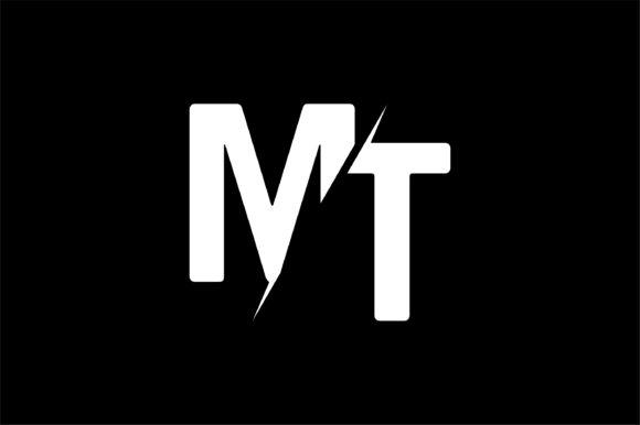 Monogram MT Logo Design.