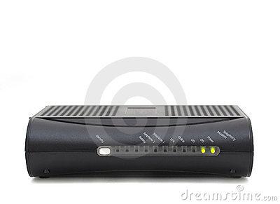 Cable Modem Clipart.