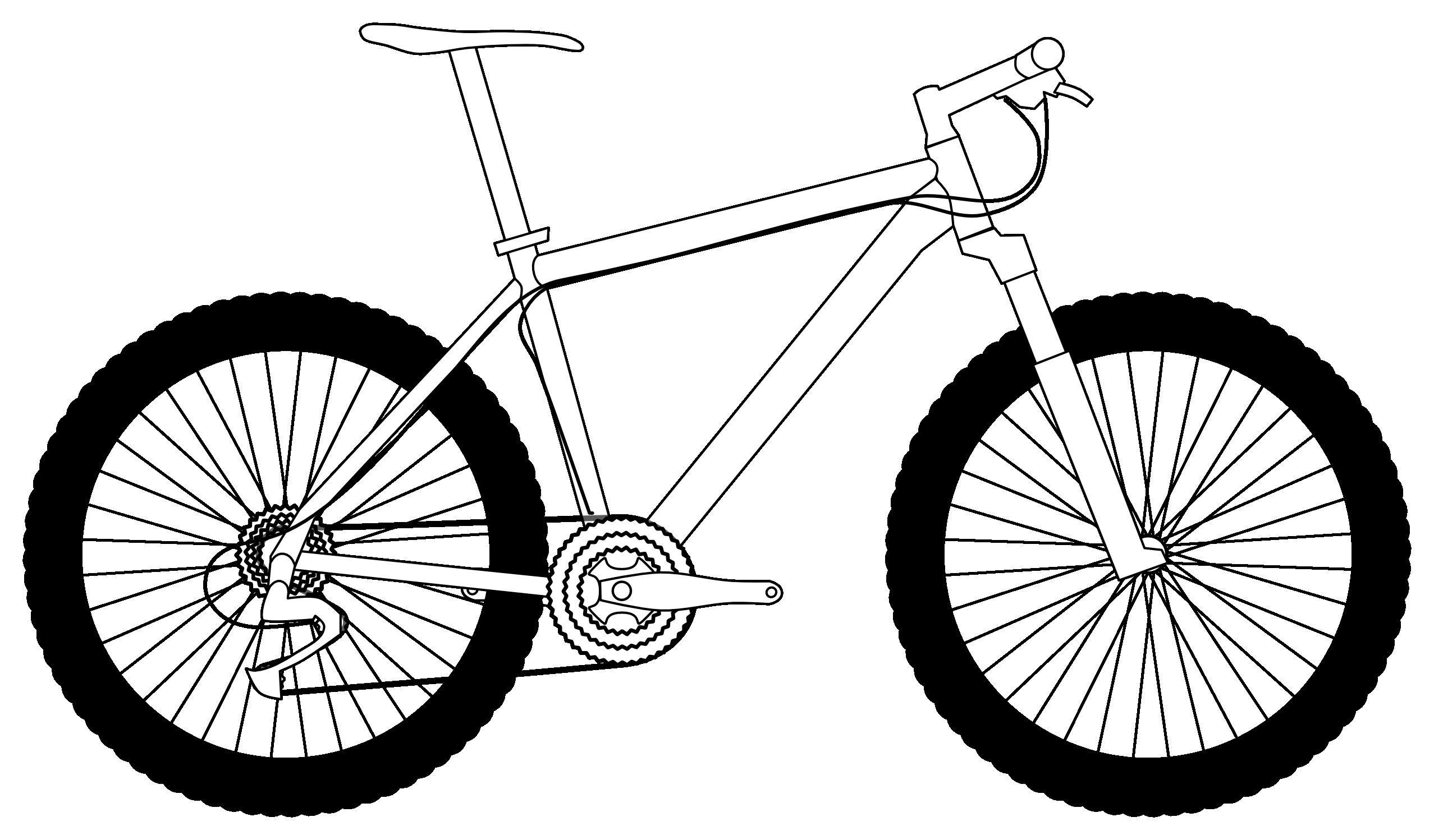 Trek Mountain Bike Clipart.
