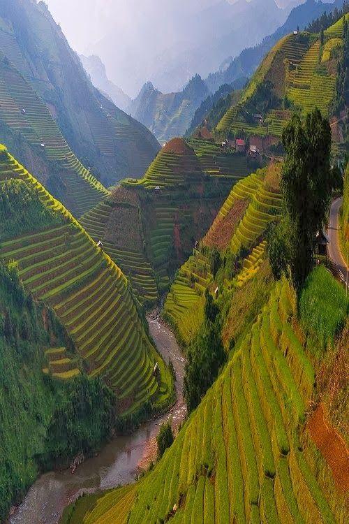 Mu Cang Chai , Vietnam : When I return to Southeast Asia I would.
