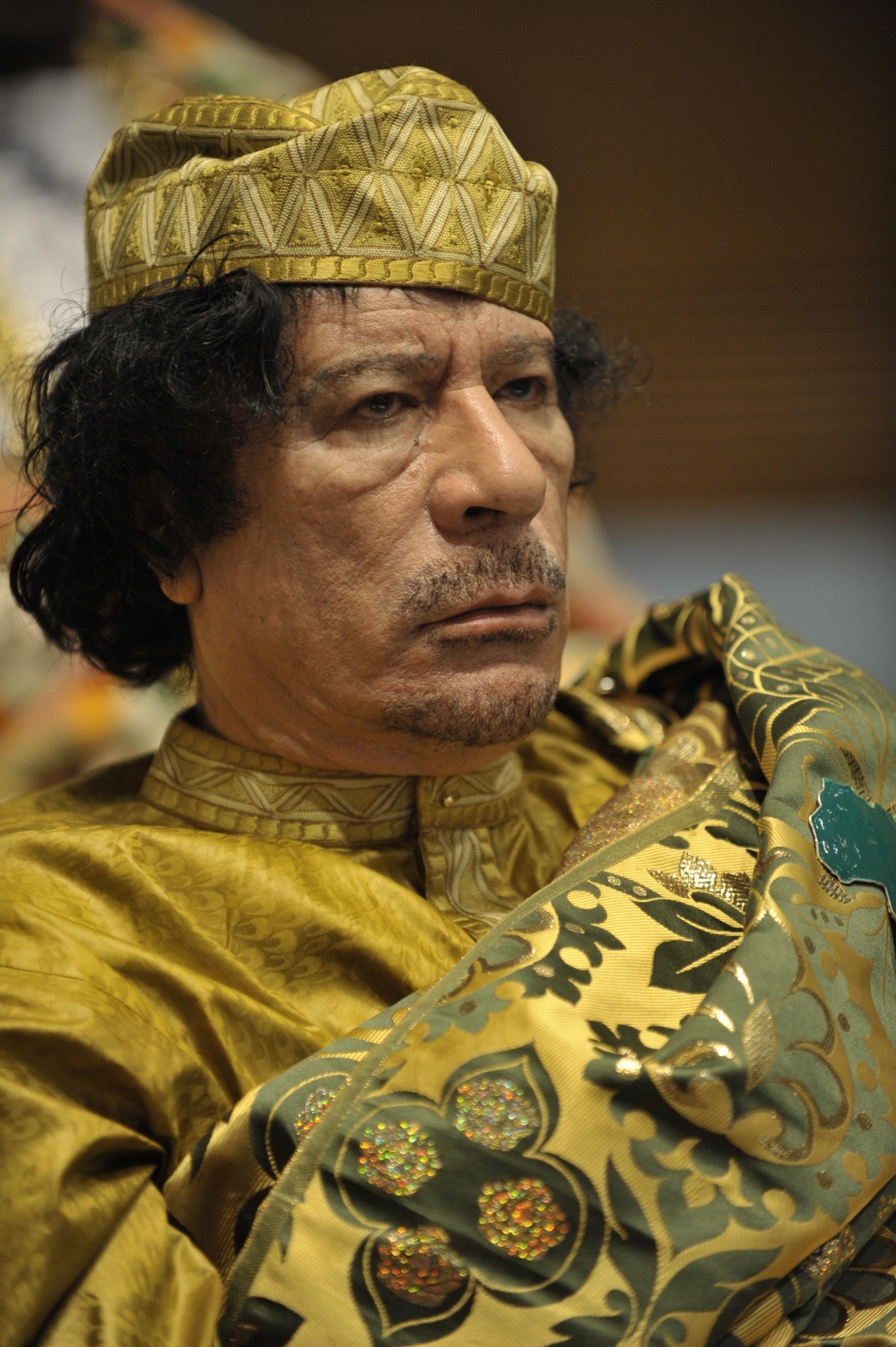 History of Libya under Muammar Gaddafi.