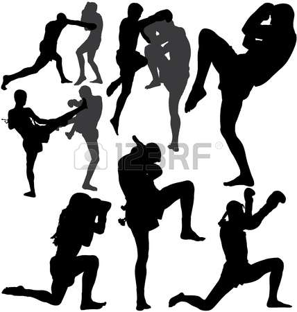 1,142 Muay Thai Cliparts, Stock Vector And Royalty Free Muay Thai.