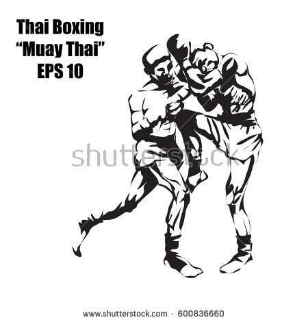 Muay Thai Stock Images, Royalty.