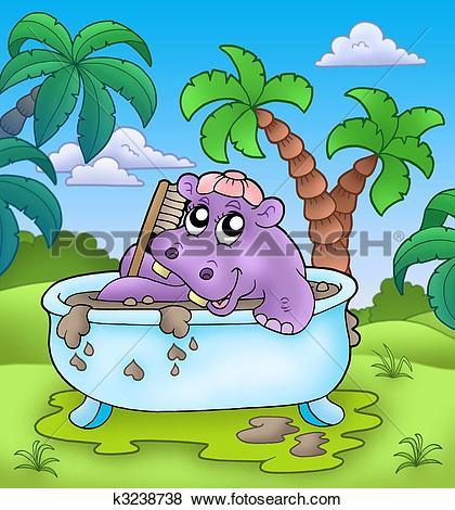Mud bath Illustrations and Clipart. 22 mud bath royalty free.