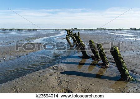 Stock Photo of mud flats k23594014.