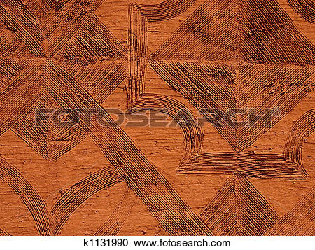 Stock Photography of Mud wall background k1131990.
