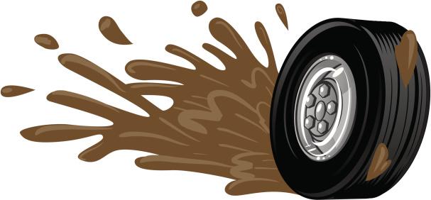 Mud Splatter Clip Art, Vector Images & Illustrations.