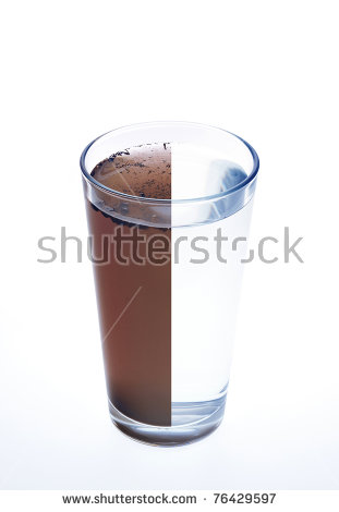 Dirty Water Stock Images, Royalty.