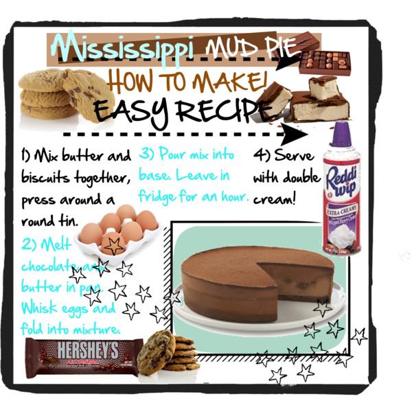 Mississippi Mud Pie RECIPE <3.