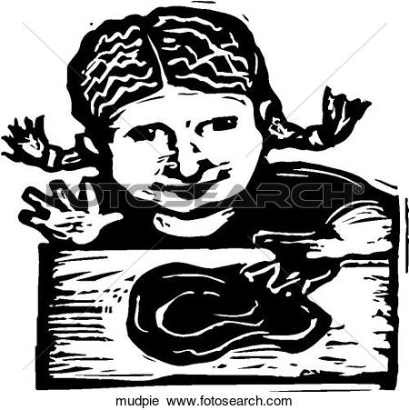 Clipart of Mud Pie mudpie.