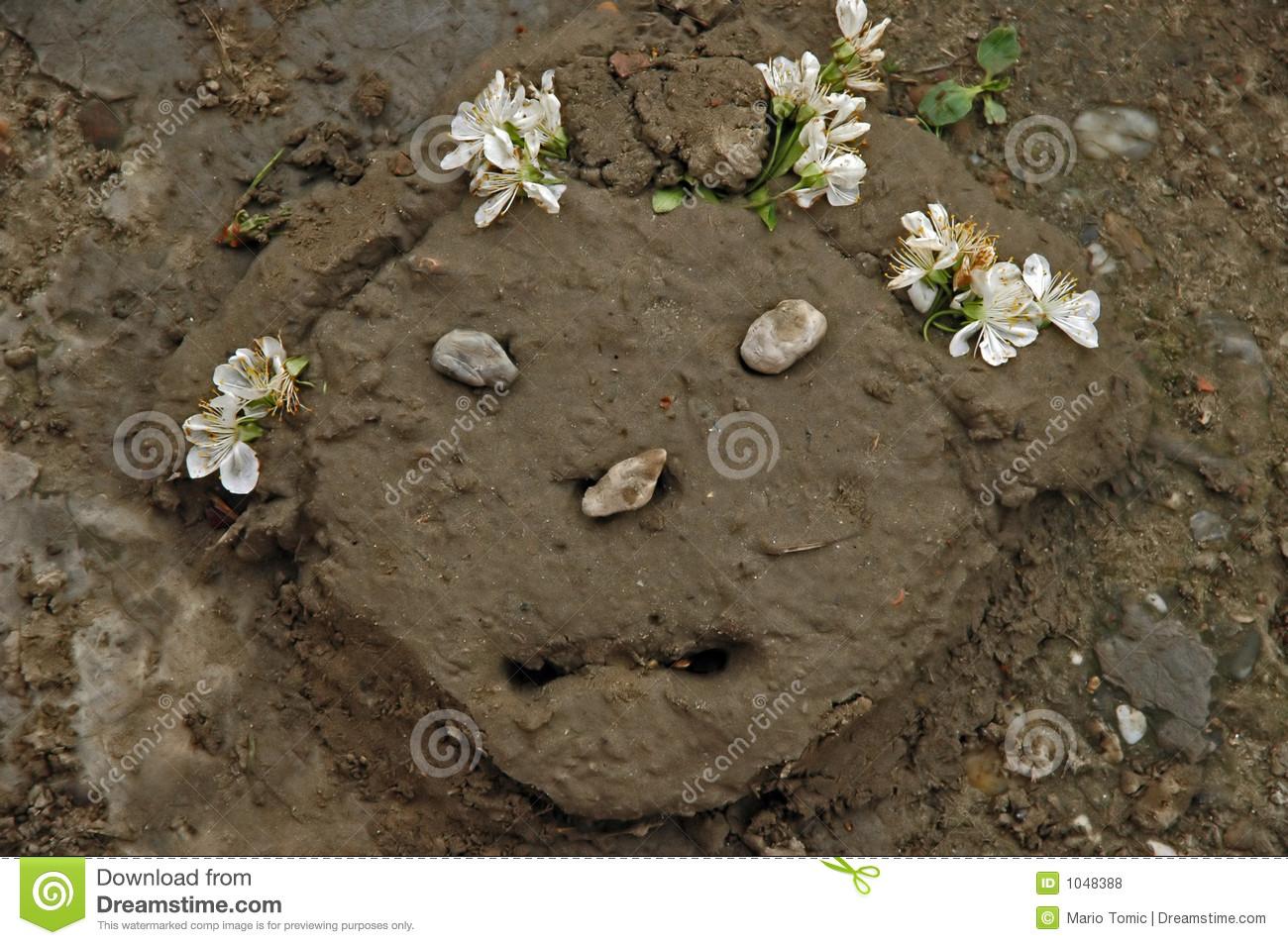 Mud Pie Stock Photography.