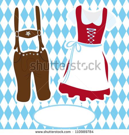 Bavarian flag colors.