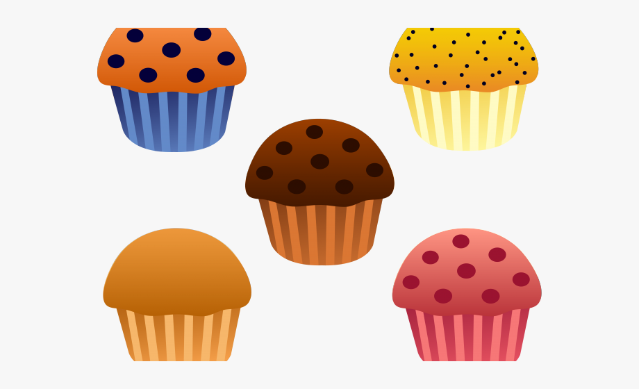 Muffin Clipart Baked Goods.