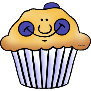 Showing post & media for Cartoon muffin clip art.
