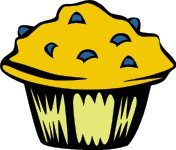 Free Muffins Clipart.